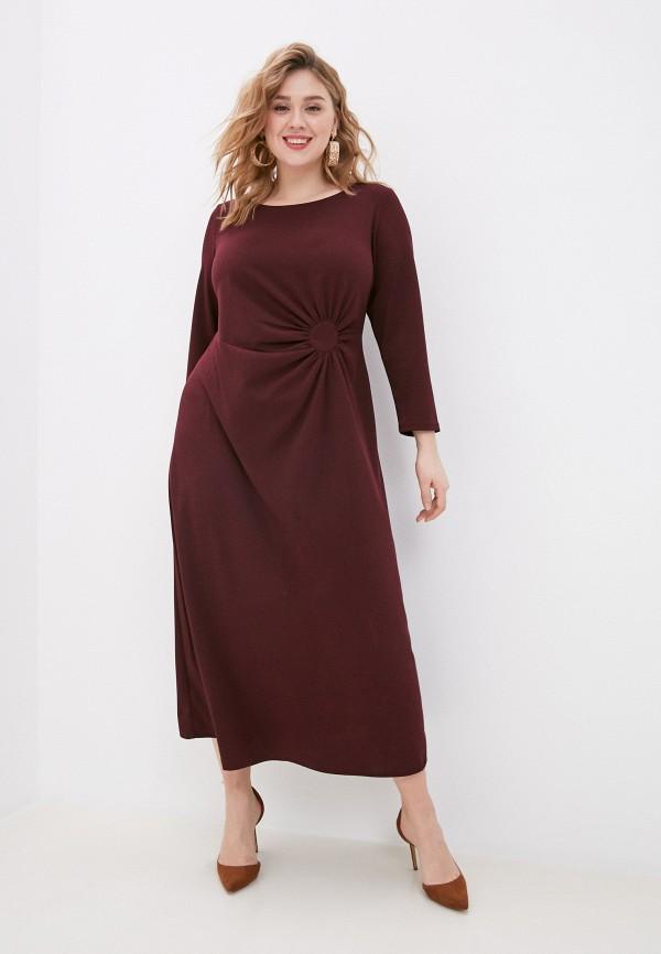 женское повседневные платье svesta, бордовое