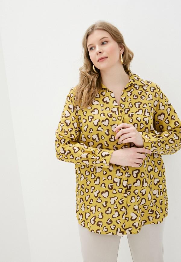 женская блузка svesta, желтая