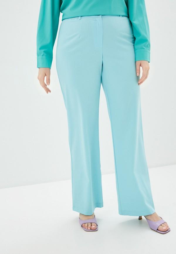женские прямые брюки svesta, бирюзовые