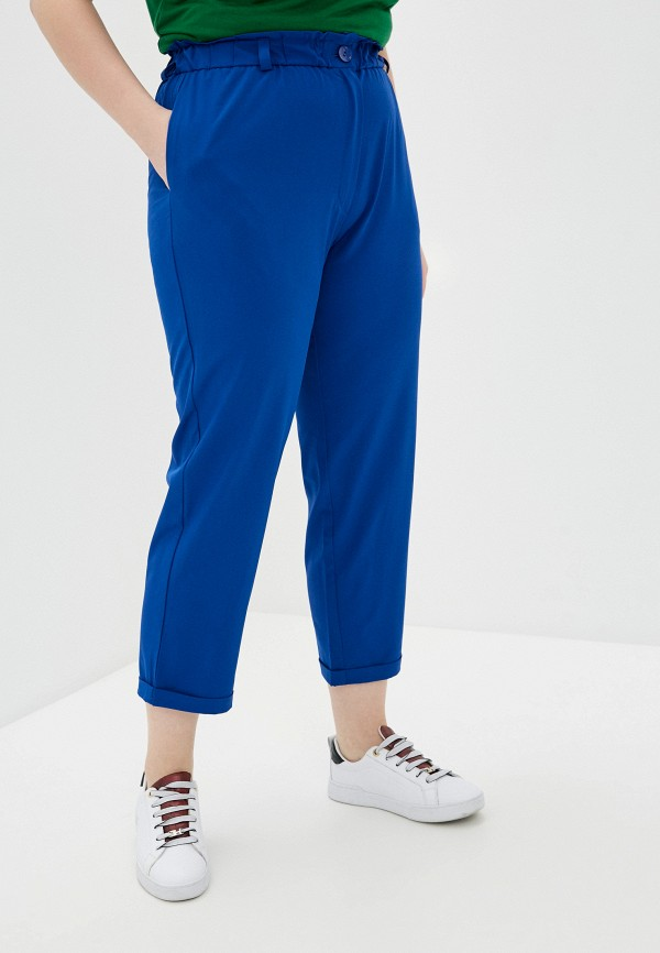 женские прямые брюки svesta, синие