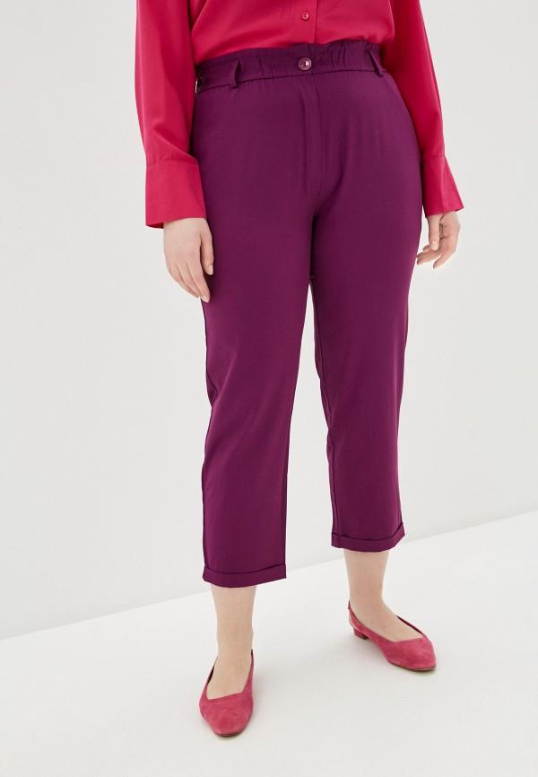 женские прямые брюки svesta, фиолетовые
