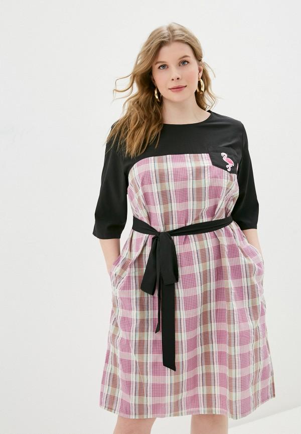 женское повседневные платье svesta, розовое