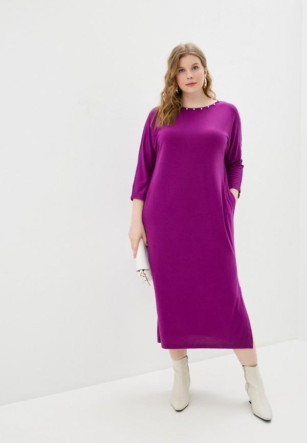 женское повседневные платье svesta, фиолетовое