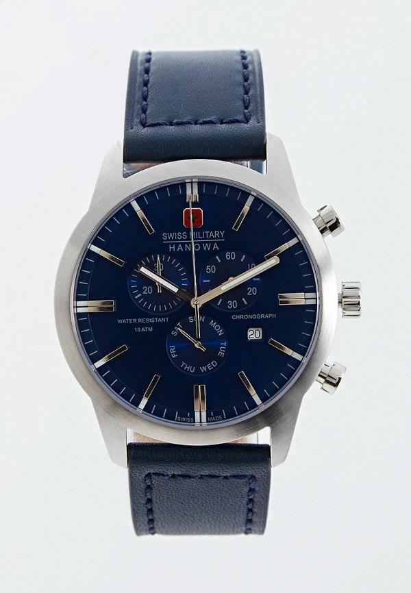 мужские часы swiss military hanowa, синие