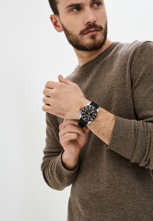 Часы Swiss Military Hanowa, цвет черный 06-4323.04.007.04. Цена: 24999 р. Коллекция: Осень-зима 2020/2021, Пол: men, Сезонность: мульти, Страна-изготовитель: Швейцария - фото 5