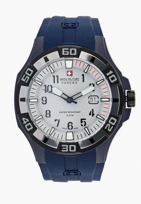 мужские часы swiss military, синие