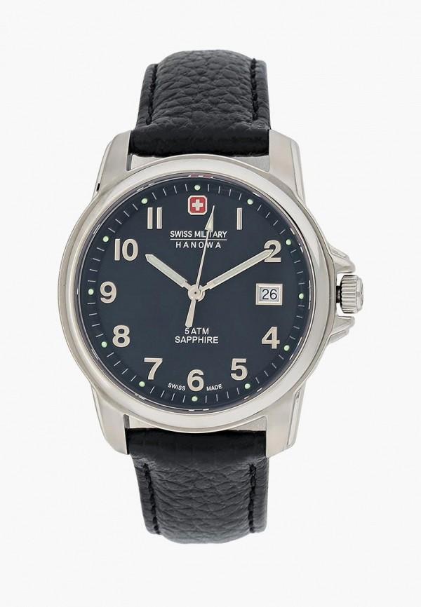 мужские часы swiss military hanowa, черные