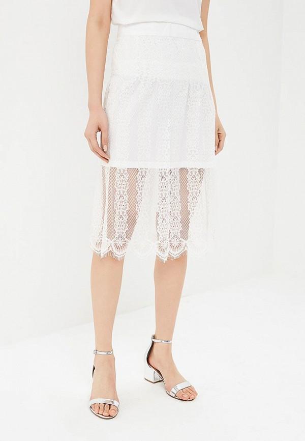 женская прямые юбка sweewe, белая