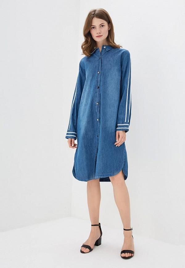 Платье джинсовое Sweewe Sweewe SW007EWBCXS6 платье sweewe sweewe sw007ewbjte2