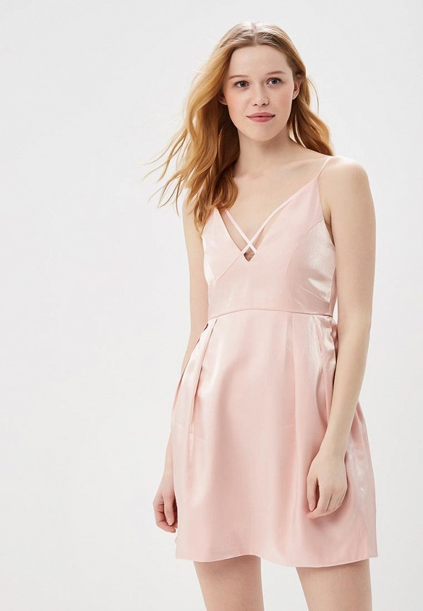 Купить Платье Sweewe, sw007ewbcyj4, розовый, Весна-лето 2018