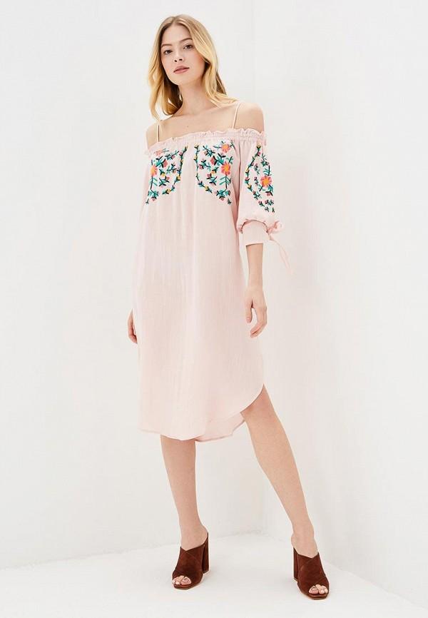 Купить Платье Sweewe, sw007ewbjtb9, розовый, Весна-лето 2018