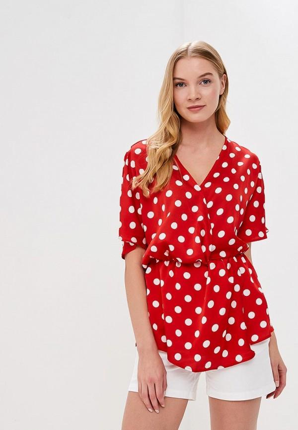 женская блузка sweewe, красная