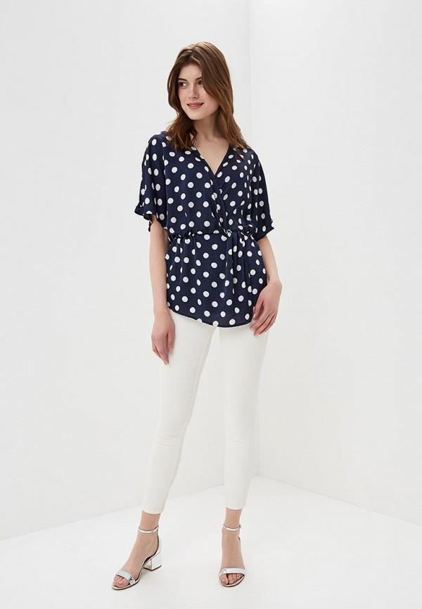 Фото 2 - женскую блузку Sweewe синего цвета