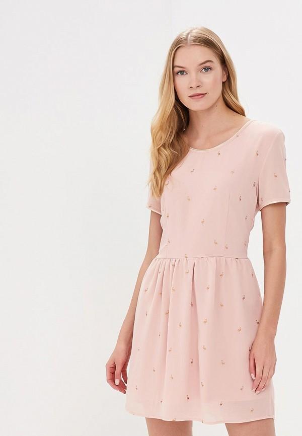 Купить Платье Sweewe, sw007ewbjtg8, розовый, Весна-лето 2018