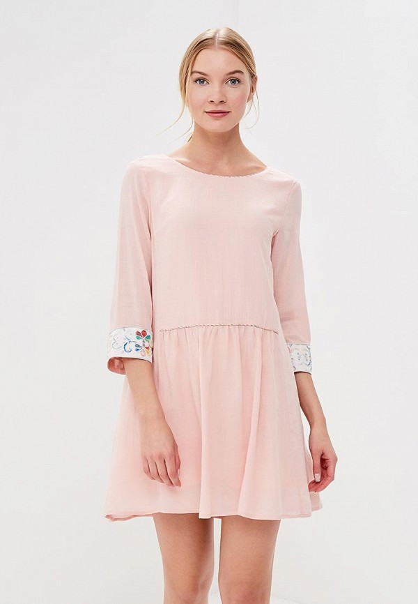 Купить Платье Sweewe, sw007ewbjth4, розовый, Весна-лето 2018