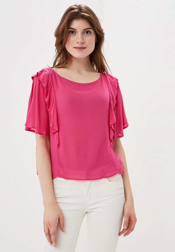 женская блузка sweewe, розовая