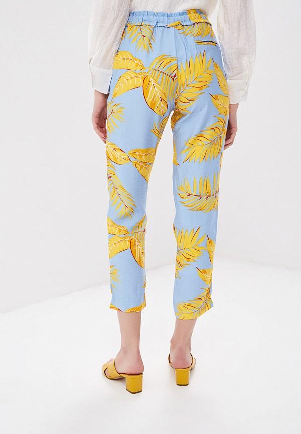 Фото 3 - женские брюки Sweewe голубого цвета
