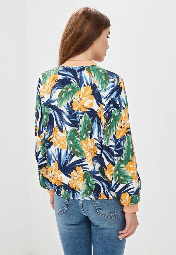 Фото 3 - Куртку Sweewe разноцветного цвета