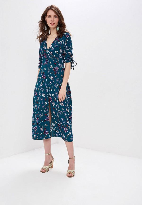 женское повседневные платье sweewe, бирюзовое