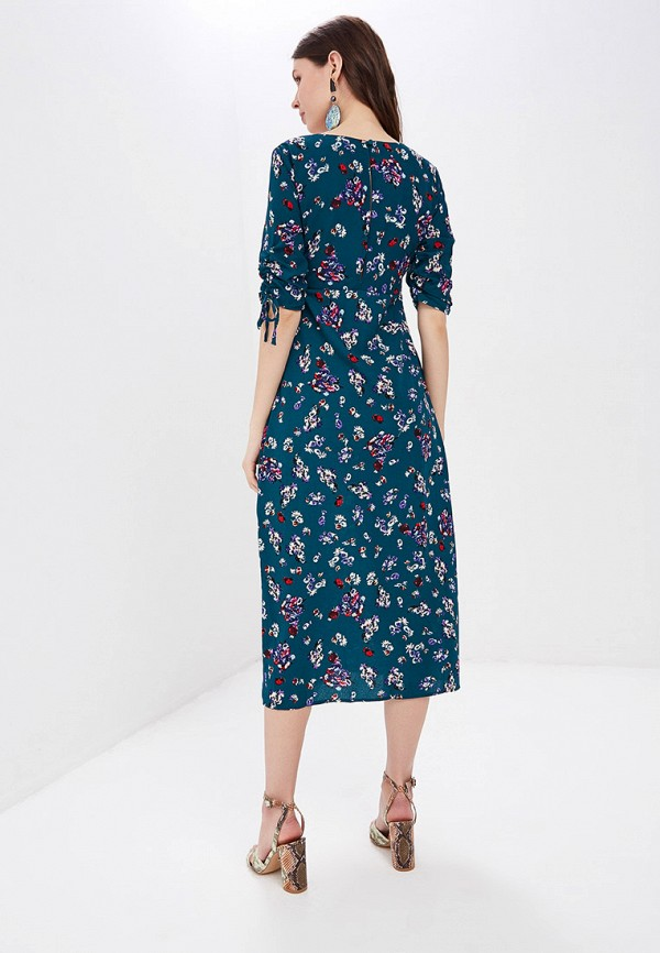 Фото 3 - женское платье Sweewe бирюзового цвета