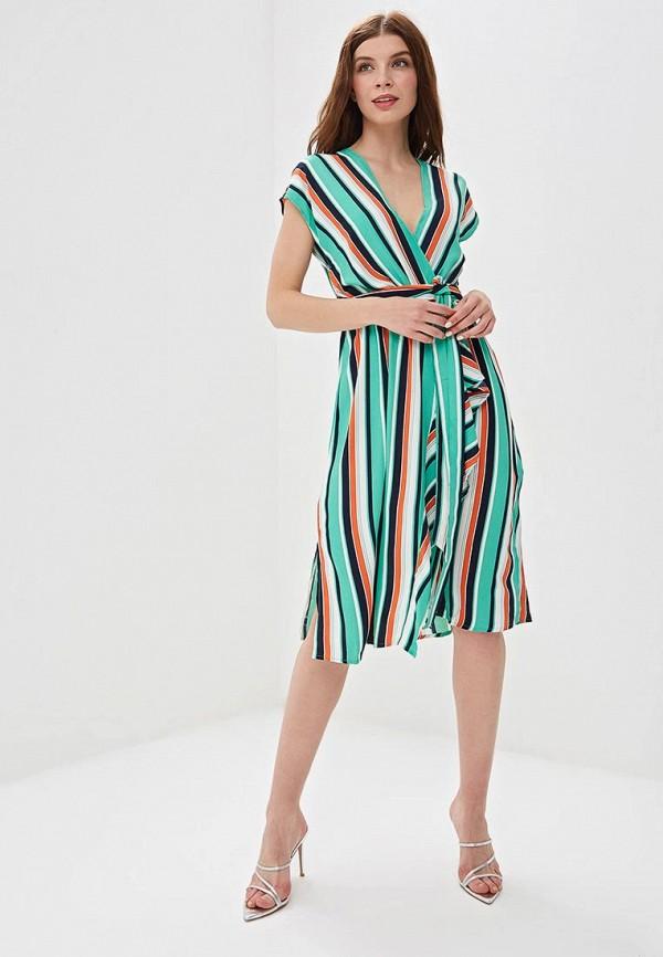 Фото 2 - женское платье Sweewe разноцветного цвета