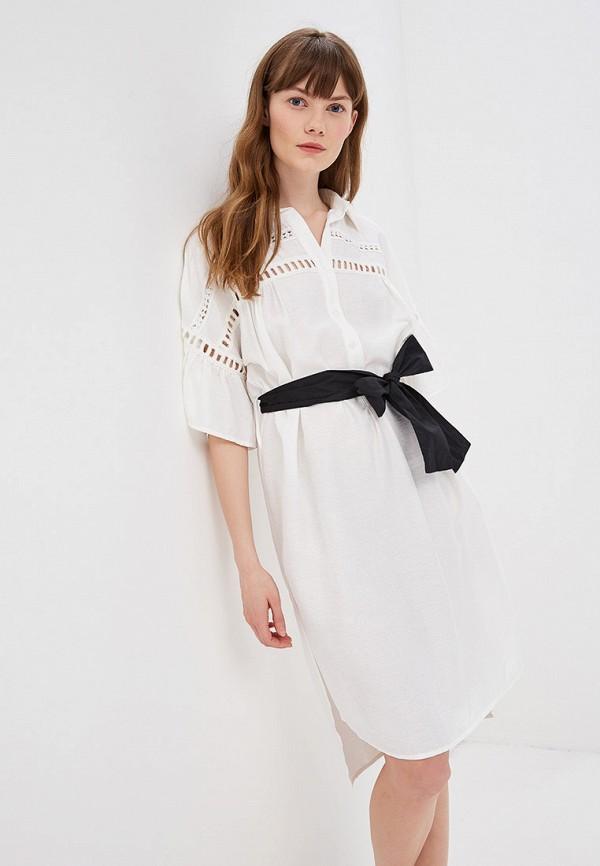 женское повседневные платье sweewe, белое