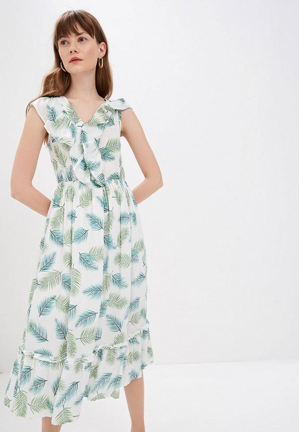 женское повседневные платье sweewe, зеленое
