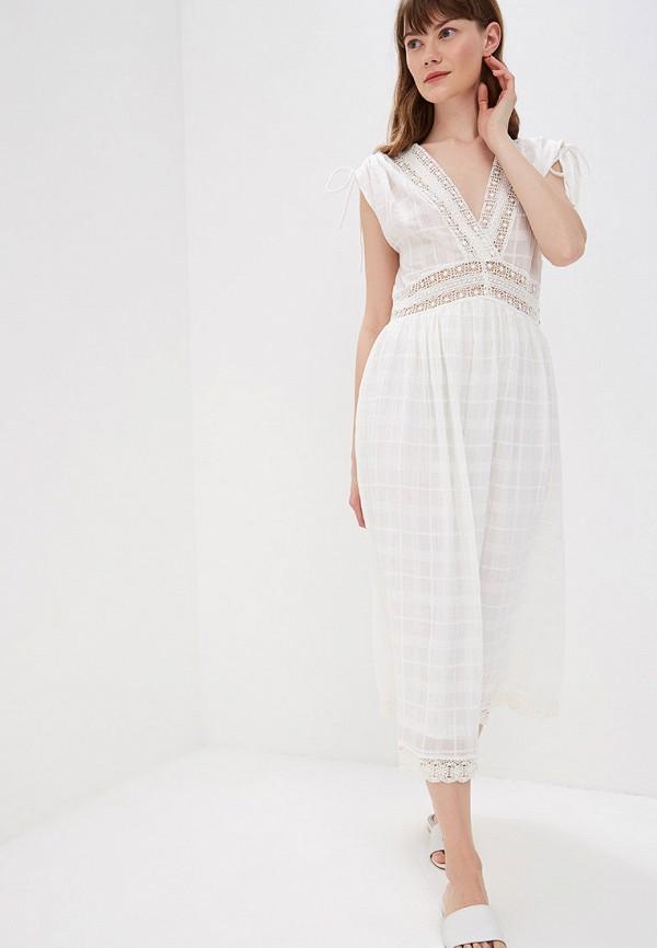 Фото 2 - женское платье Sweewe белого цвета