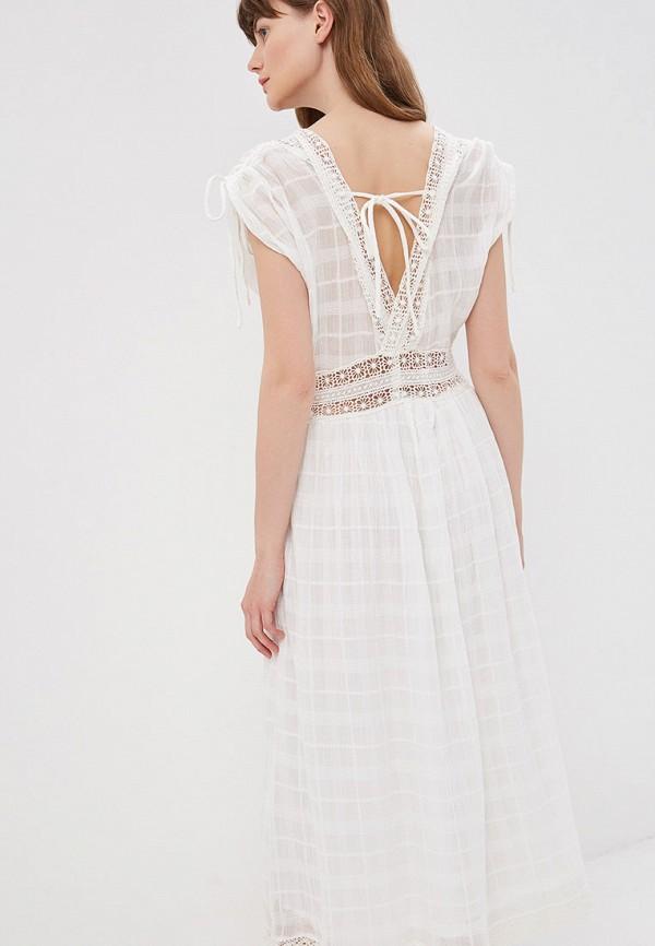 Фото 3 - женское платье Sweewe белого цвета
