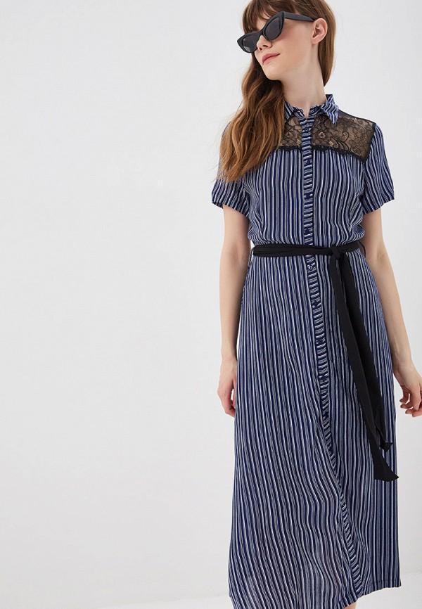 женское платье sweewe, синее