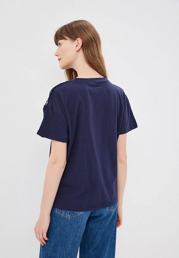 Фото 3 - женскую футболку Sweewe синего цвета