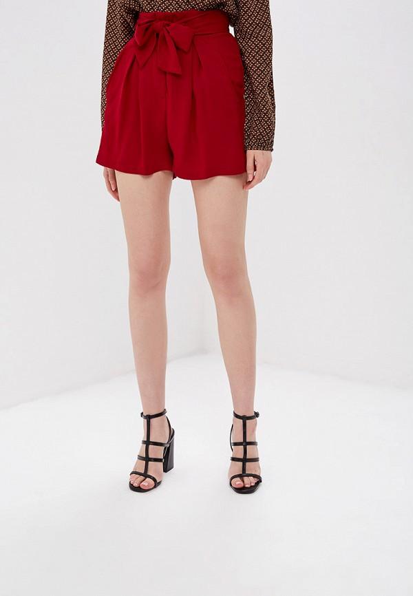 женские повседневные шорты sweewe, бордовые