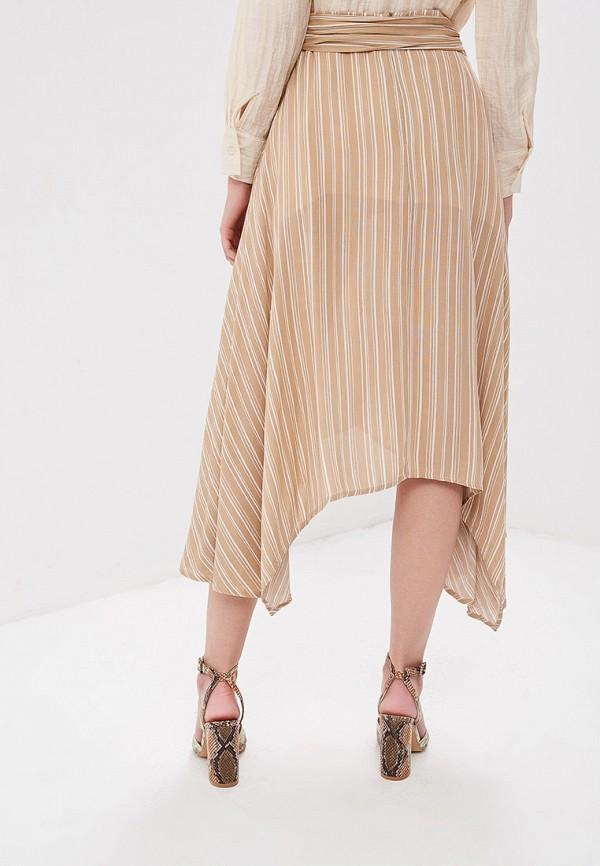 Фото 3 - женскую юбку Sweewe бежевого цвета