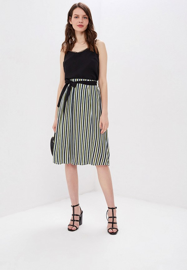 Фото 2 - женскую юбку Sweewe разноцветного цвета