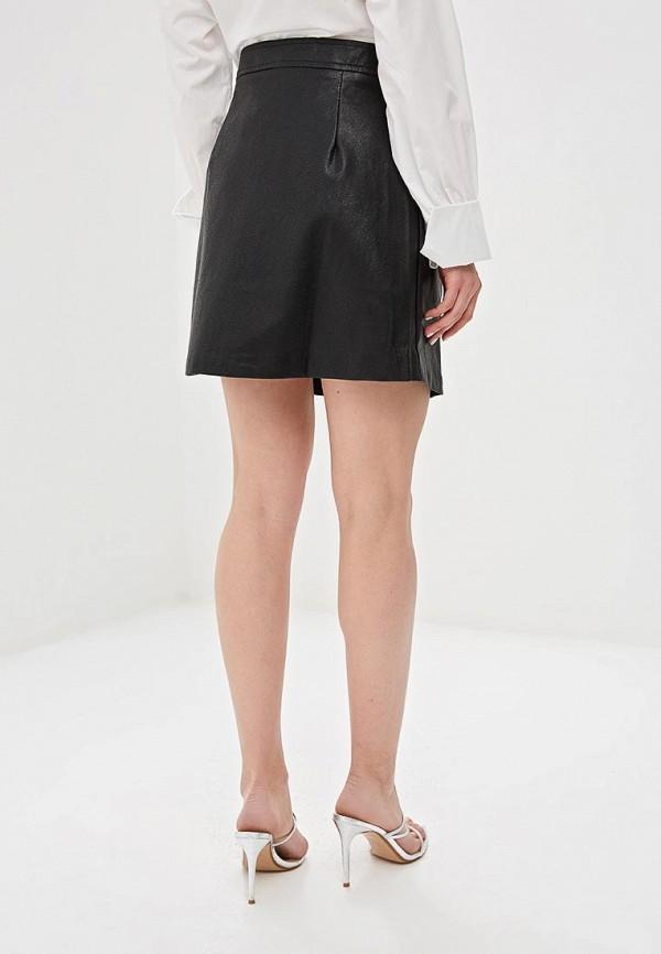 Фото 3 - женскую юбку Sweewe черного цвета