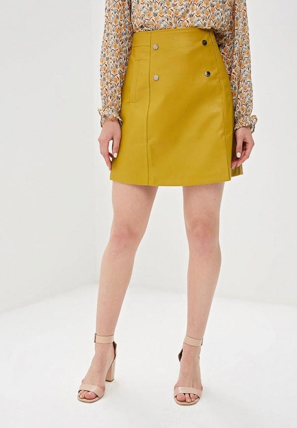 женская юбка sweewe, желтая