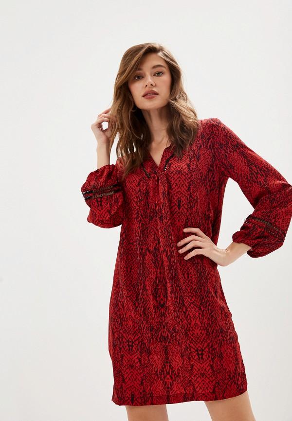 женское повседневные платье sweewe, красное