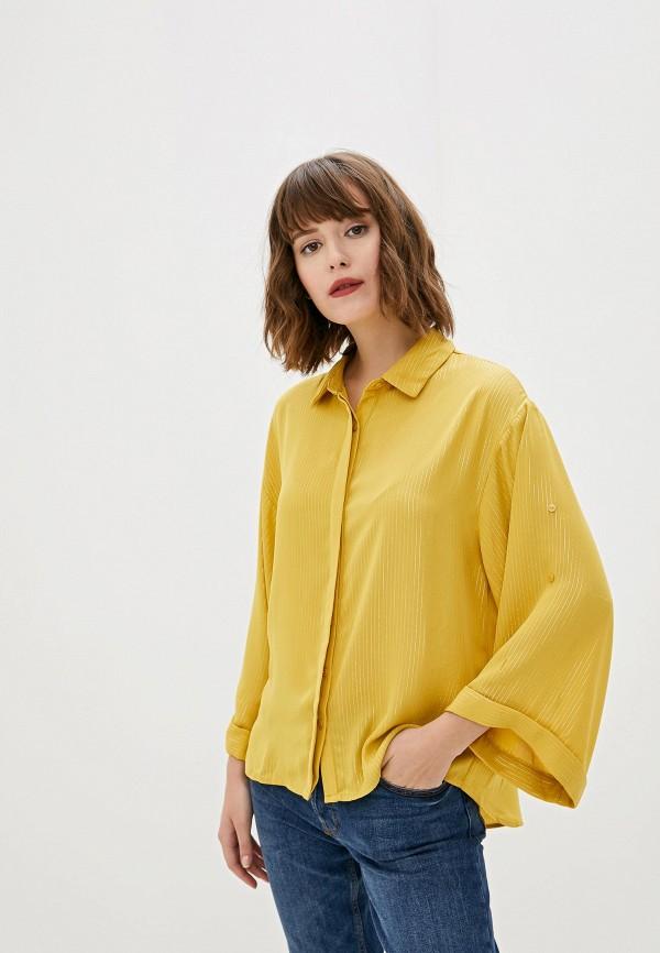 женская блузка sweewe, желтая