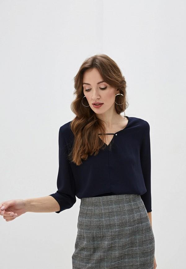 женская блузка sweewe, синяя