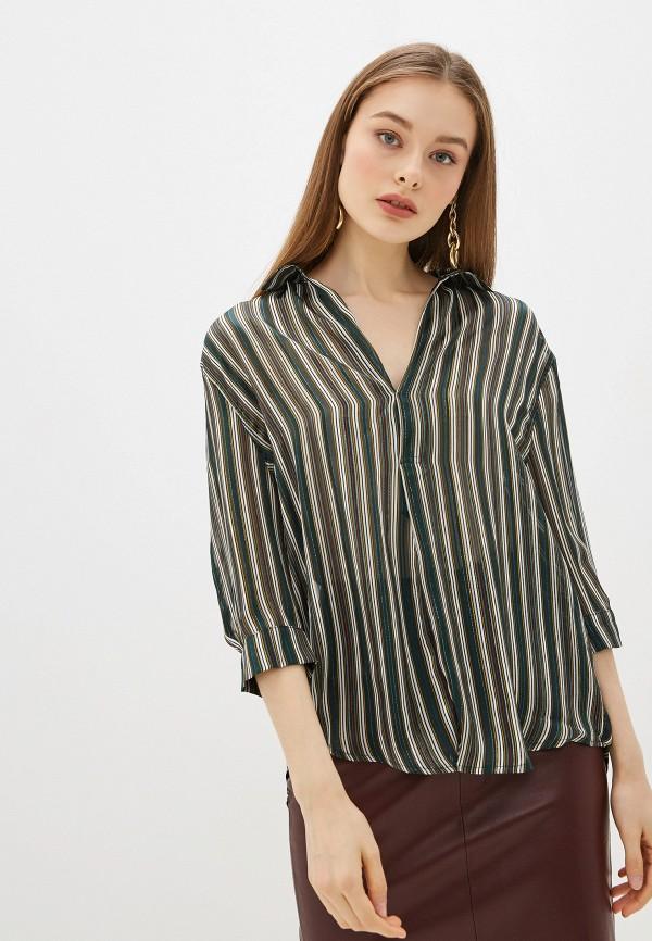 женская блузка sweewe, зеленая