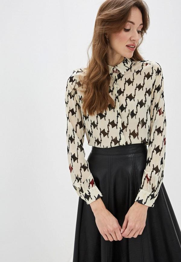 женская блузка sweewe, бежевая