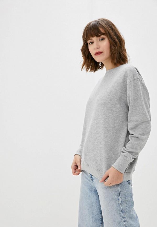 женский свитшот sweewe, серый