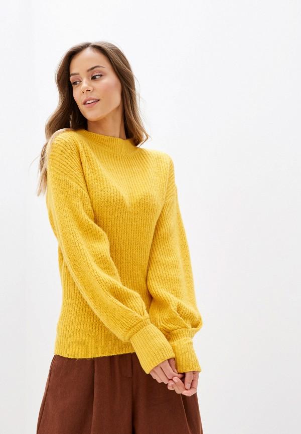 женский джемпер sweewe, желтый
