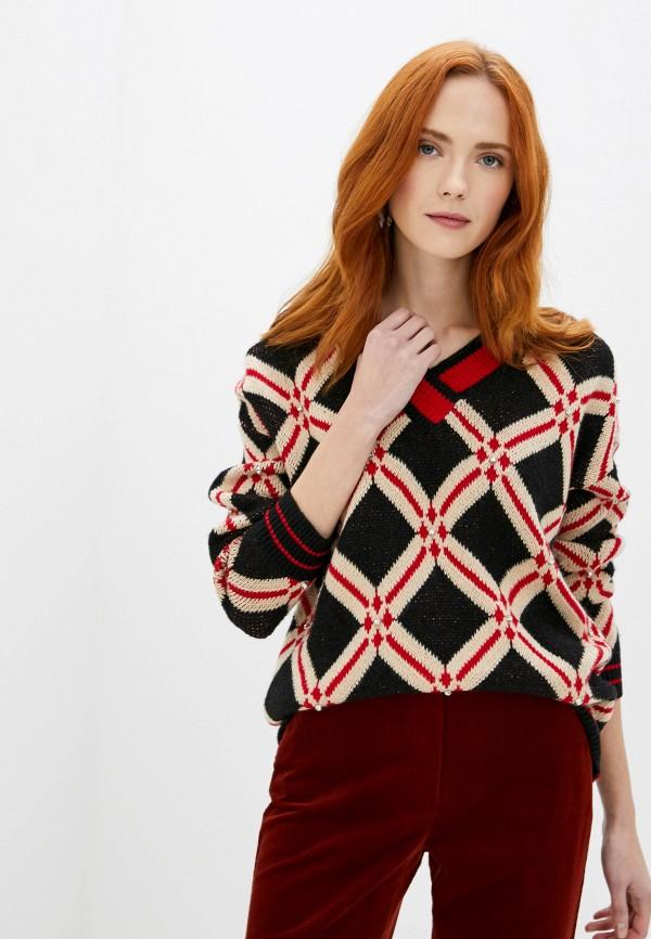 женский пуловер sweewe, черный