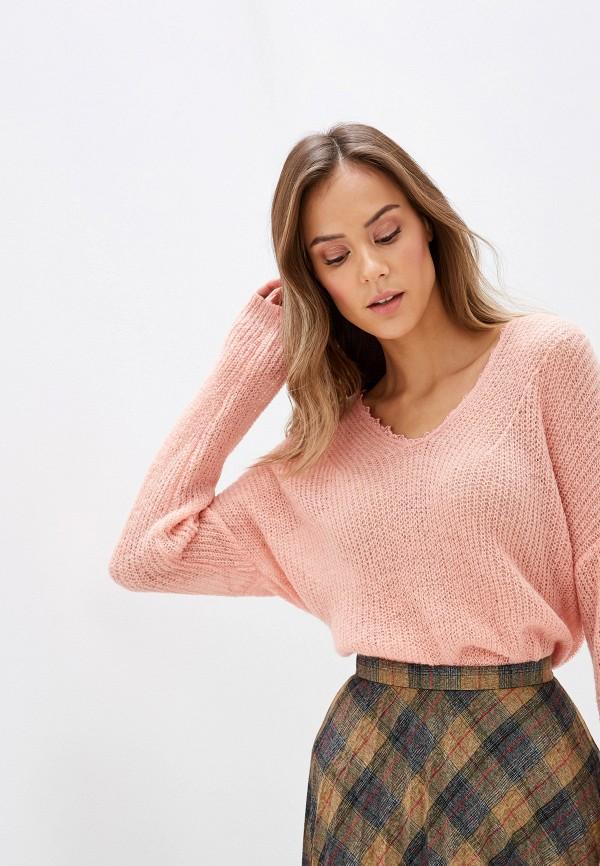 женский пуловер sweewe, розовый