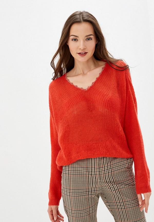 женский пуловер sweewe, красный