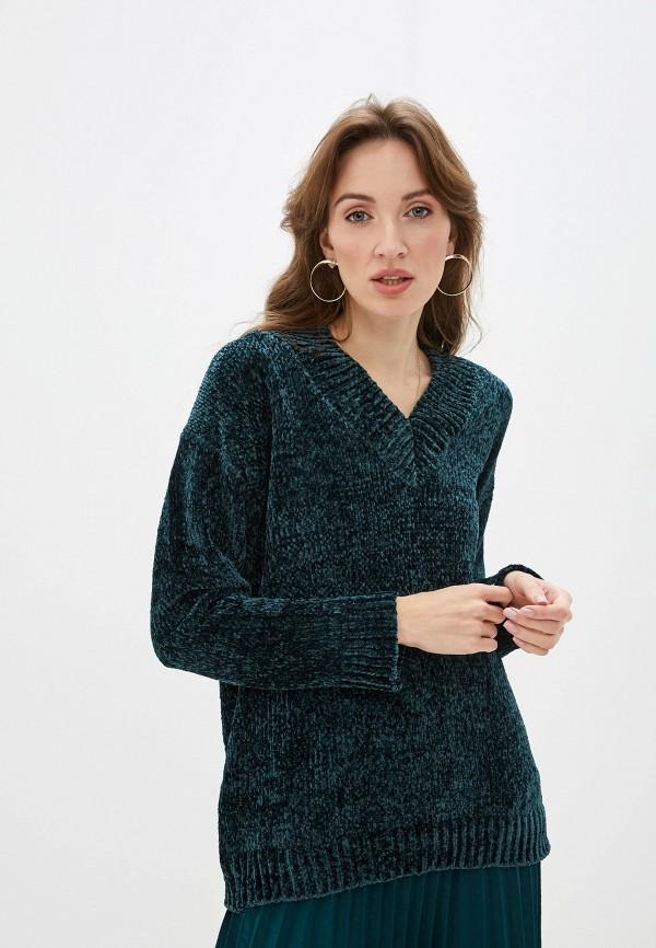 женский пуловер sweewe, зеленый
