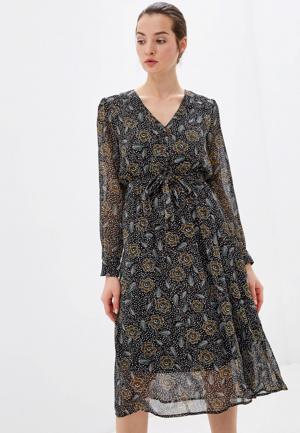 женское повседневные платье sweewe, черное