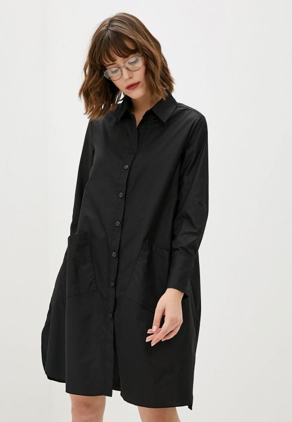 женская рубашка sweewe, черная