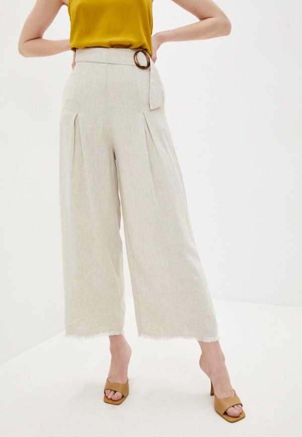 женские повседневные брюки sweewe, бежевые
